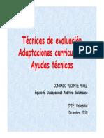 08 Evaluación Adaptaciones Ayudas Técnicas. Sordos