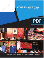 Courses of Study 2011-12