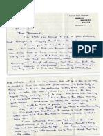 Letter From Dan