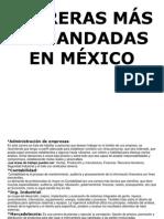 Carreras Más Demandadas en México