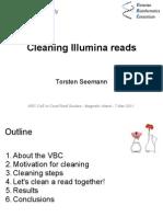 Filtering Illumina Reads - Torsten Seemann - Magnetic Island - 7 Mar 2011