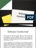 Enfoque Cognitivo y Conductual
