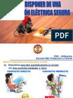 Disponcion de  Insta Eléctrica Segura-DIFERENCIALES