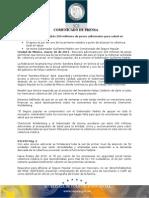 30-03-2011 Guillermo Padrés se reunió con el comisionado nacional del seguro popular, Chertorivki Woldenberg, donde obtuvo 200 millones de pesos adicionales para la salud en el Estado. B031199