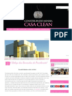 Construindo Minha Casa Clean_ a Beleza Das Bancadas de Porcelanato!