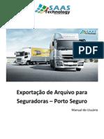 Manual GEFROTA Exportação Porto Seguro