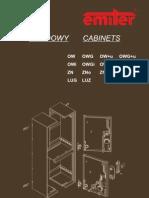 Katalog OW, ZN, LUKA / Catalogue OW, ZN, LUKA