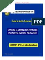 b1) Pruebas de Auditoria y Papeles de Trabajo - Luis a Gutierrez