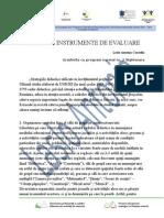 Metode Si Instrumente de Evaluare