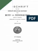 Eenige aanteekeningen over de Nederlandsche, in het bijzonder over de Friesche muntgeschiedenis / [S. Wigersma Hz.]
