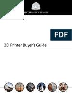 3D Printer Buyers Guide 2012