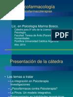 Presentación Psicofarmacología - Lic. Marina Bosco