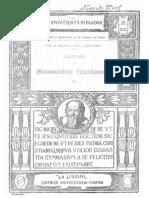 Lezioni Di Meccanica Razionale (1920)