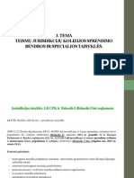 III Tema Teismų Jurisdikcijų Kolizijos Sprendimo Bendros Ir Specialios Taisyklės