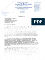 Issa Letter to Eric Holder About Brian Fallon