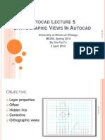 Autocad Lecture 5