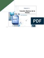 Determinación Del Tamaño Óptimo de La Planta Presentation Transcript