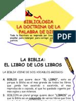 Bibliologia La Doctrina de La Palabra de Dios