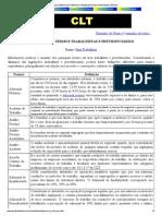 Glossário de Termos Trabalhistas e Previdenciários