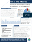 Wikimedia and Metrics Poster