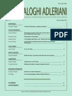 Dialoghi Adleriani 1 2014