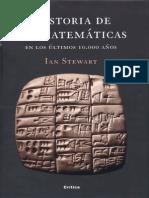 Historia de Las Matematicas en Los Ultimos 10000 Años Ian Stewart