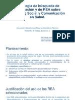 Estrategia para la búsqueda de Información y Recursos Educativos Abiertos sobre temas relacionados con la Salud Pública
