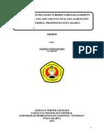 GeologiI & Studi Fasies Turbidit Formasi Sambipitu Daerah Ngalang