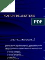 notiuni anestezie