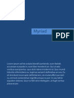 Lorem Ipsum (Myriad)