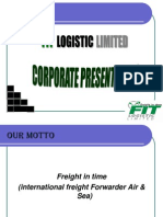 Final Fit Logistic Limited Knr