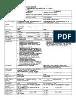 Application Form --- DBH