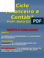 Ciclo Financeiro e Contábil - Aula 1 Adm