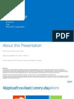Lync Online - Overview Present