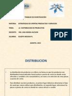 Distribución de Productos en Ecuador