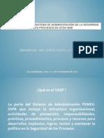 Implantación SASP en GTDH MNE_09!11!12