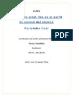 Portafolio Final La Formación Cientifica en El Perfil de Egreso Del Alumno Jose