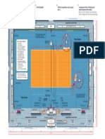FIVB VB Official Court Layout 2014