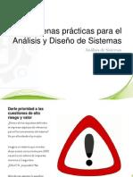Análisis de Sistemas - Buenas Prácticas