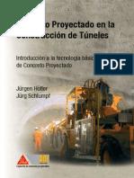 Concreto Proyectado en La Construcción de Túneles