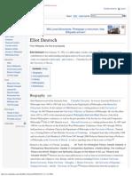 Eliot Deutsch - Wikipedia