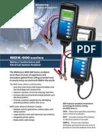 MDX600Series Brochure