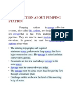 Sewage Pumping Station at Valluvar Colony