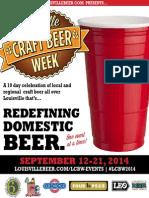 2014 Louisville Craft Beer Week Guide