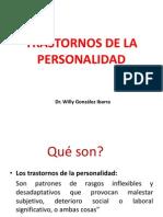 Trastornos de Personalidad Enfermeria