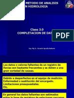 Clase 3_Completación de Datos