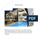 my dream house essay ebbb my dream house