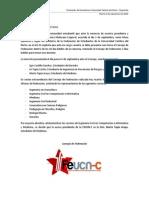 Comunicado Presidencia Federación