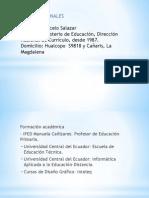 Biografia Salazar Marcelo