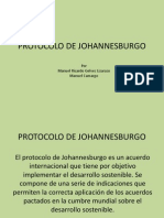 Protocolo de Johannesburgo (Recuperacion)